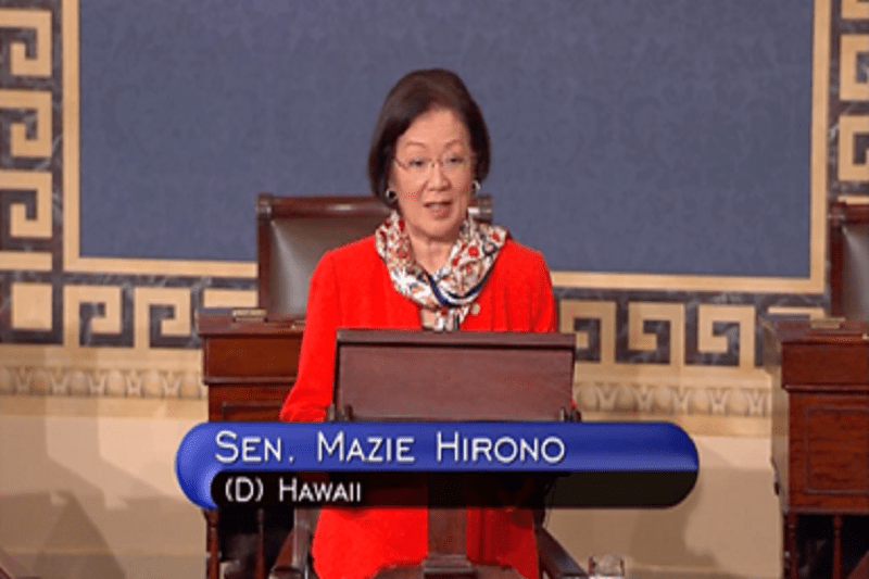 "Image result for photos of ""Sen. Mazie Hirono"