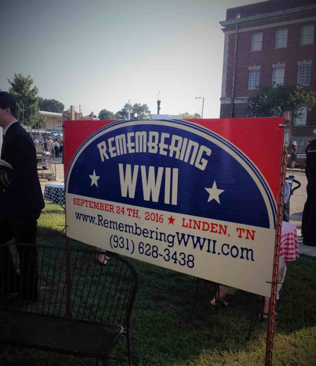 Remembering WWII in Linden, Tennessee