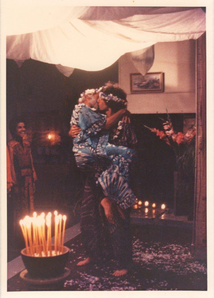 James and Joel Wedding 1978