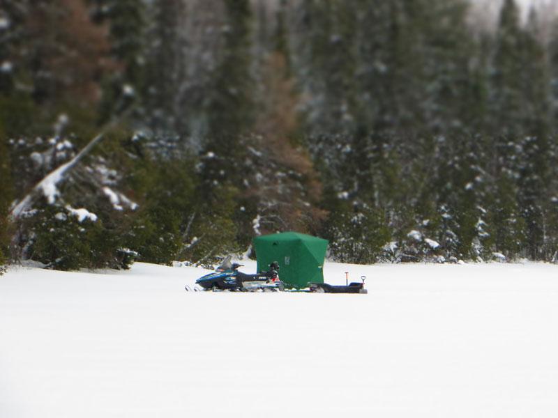 Ice Fishing Northern Minnesota