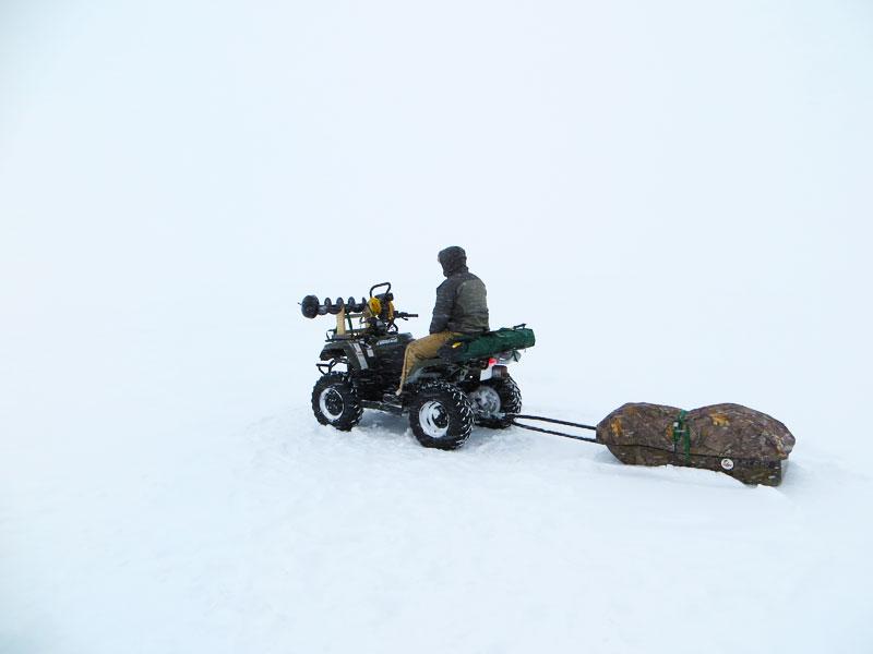 Ice Fishing Lake Superior Lake Trout
