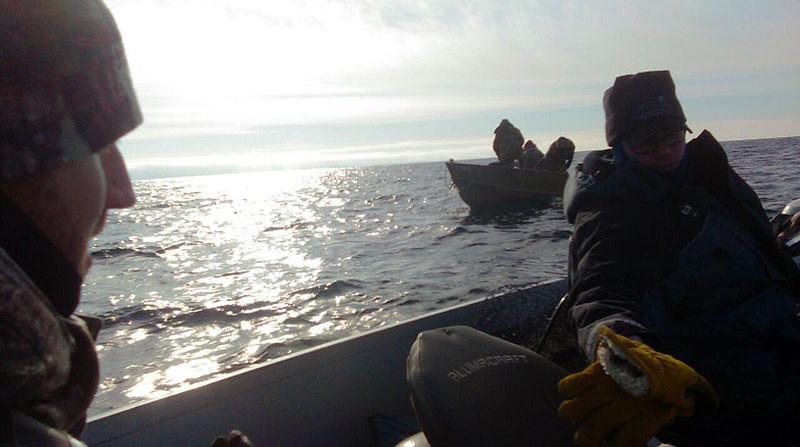 Winter Jigging Lake Superior Lake Trout