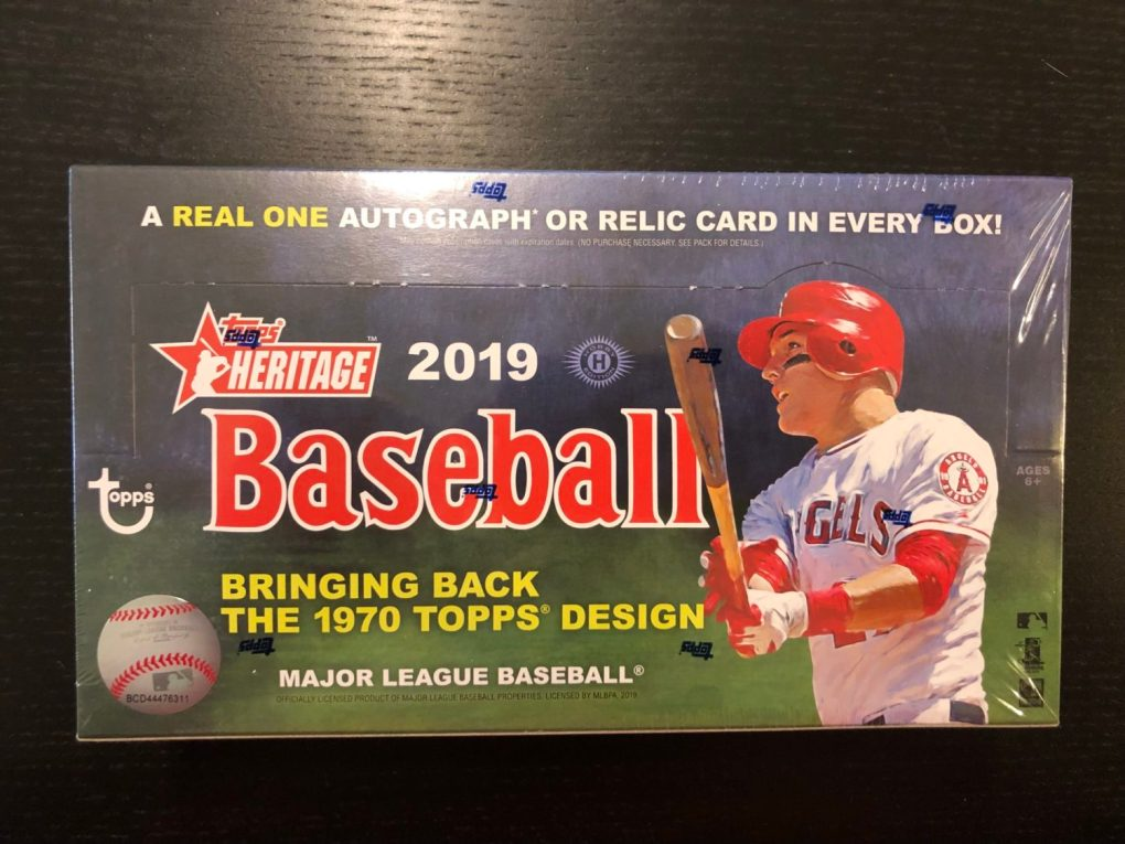 Inside The Pack 2019 Topps Heritage Review Big League Breaks
