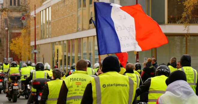 Yellow Vests Protest Rothschild Bank