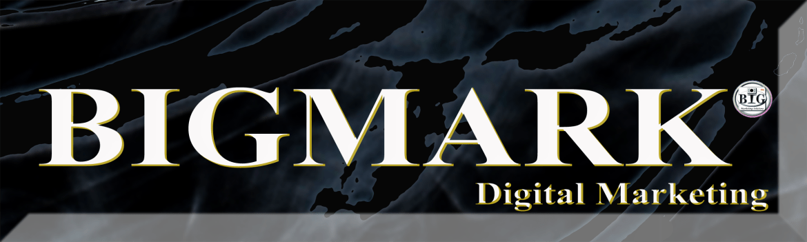 BIGMARK Digital Marketing Logo, SEO Service, Digital Marketing Service, Agency Service