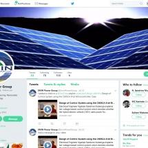 Social Media, Twitter Page Design, Management