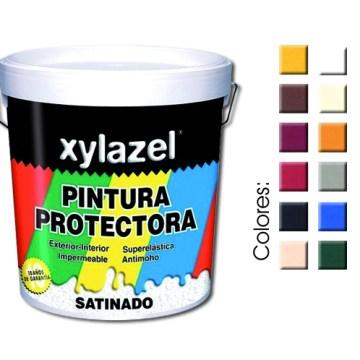 XYLAZEL PINTURA PROTECTORA SATINADO 750ML POR 9,95€