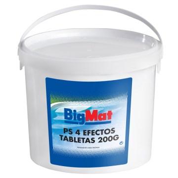 CLORO BIGMAT 4 EFECTOS 5KG (TABLETA 200GR) POR 19,95€