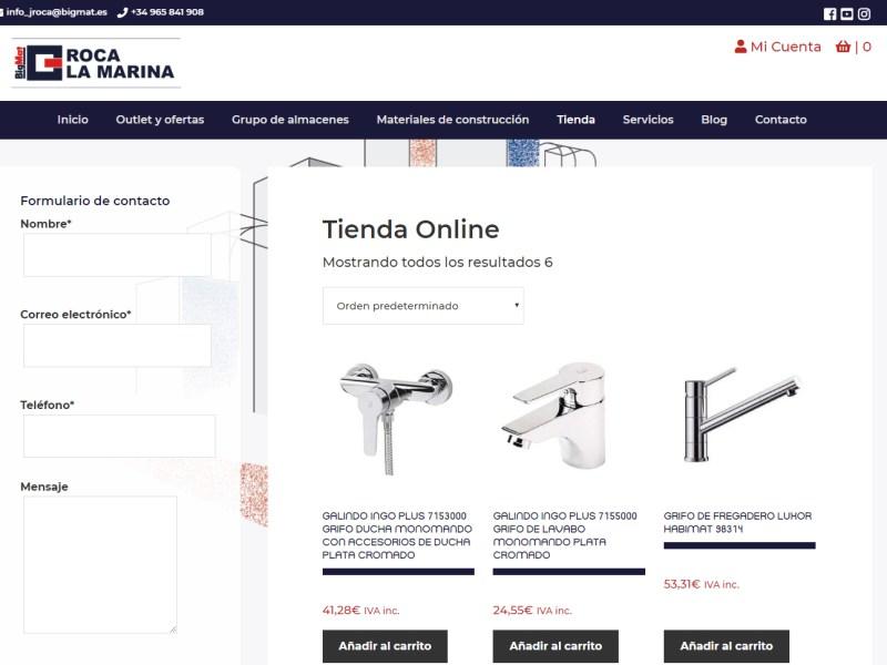 ¡Lanzamos nuestra tienda online! - BigMat Roca La Marina