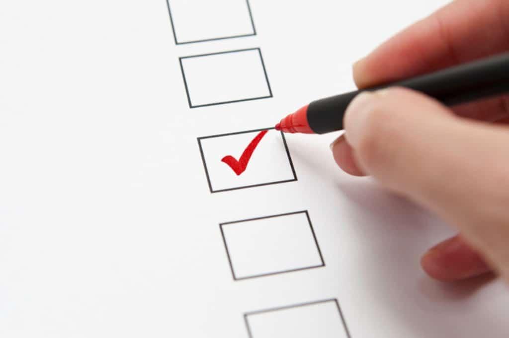 Free Buyers Checklist