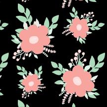 flower seamless patterns, flower, pattern
