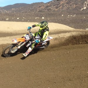 The KTM 150 has become a lethal weapon in the hills of the 909