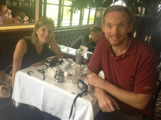 Janice and I do lunch (Singapore)