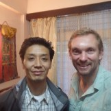 Wangchuk and me (Darjeeling, India)
