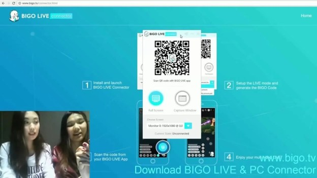 BIGO LIVE PC Using Andyroid
