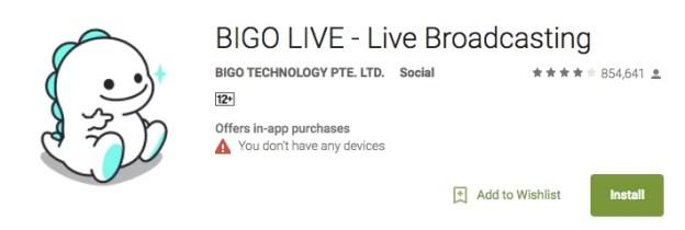 Features of BIGO LIVE
