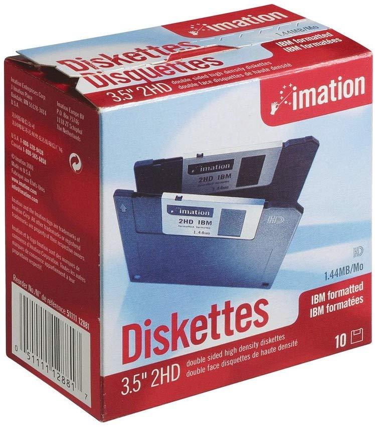 """TDK 3.5/"""" 1.44MB Black Diskettes"""