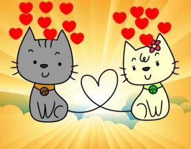gatos-enamorados-fiestas-san-valentin-pintado-por-ivanet-9802174