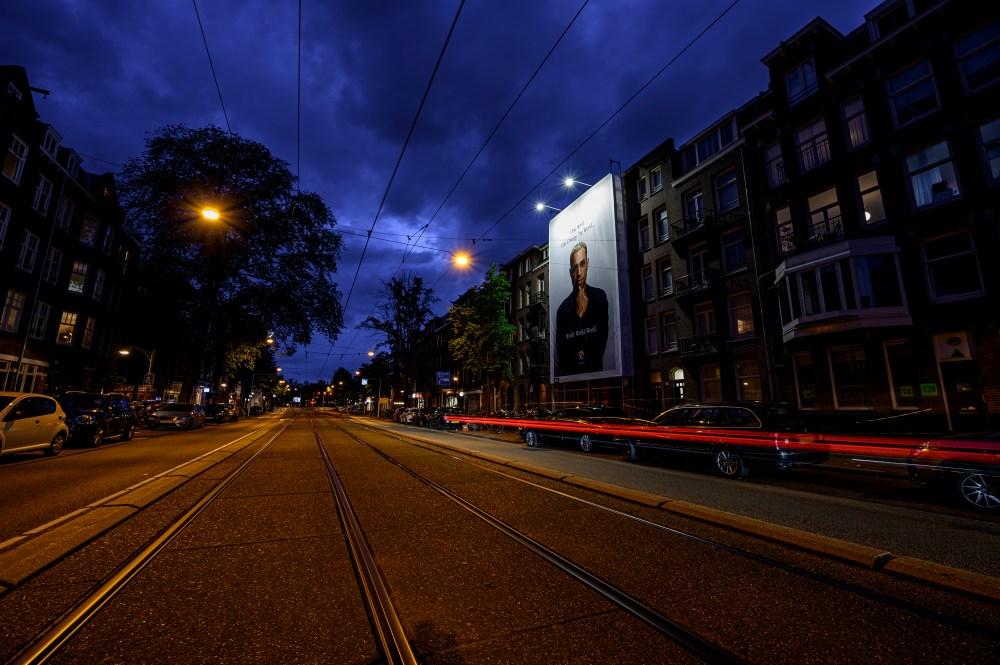 Big Outdoor Media Bizzey campagne Amsterdam
