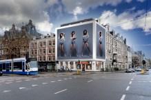 Big Outdoor Media steigerdoekreclame locatie Ceintuurbaan Amsterdam