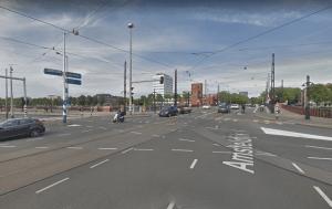 Big Outdoor Media steigerdoekreclame locatie Weesperzijde Amsterdam