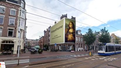 Steigerdoekreclame Overtoom 298 Amsterdam