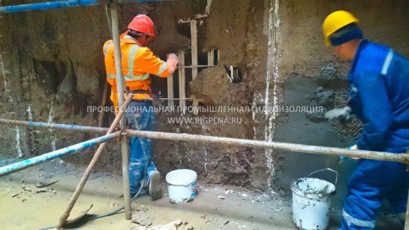 Промышленный ремонт и гидроизоляция бетона СПБ