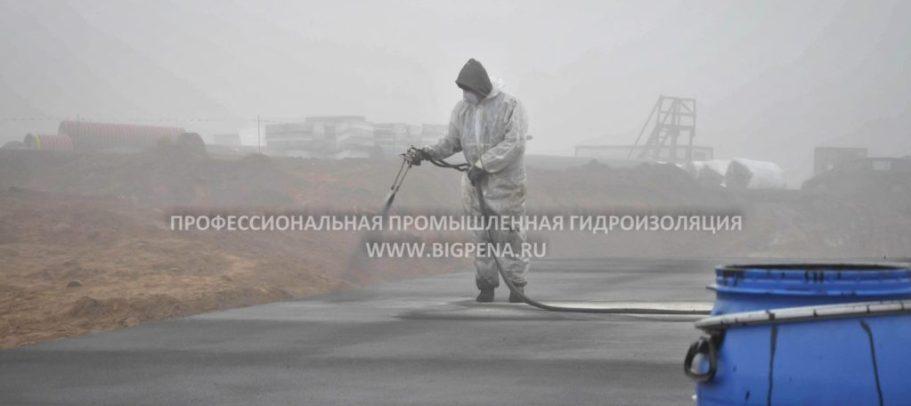 Жидкая резина услуги Профессиональная промышленная гидроизоляция
