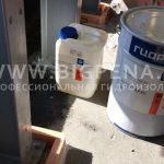 Подливка эпоксидного состава под опоры промышленного оборудования