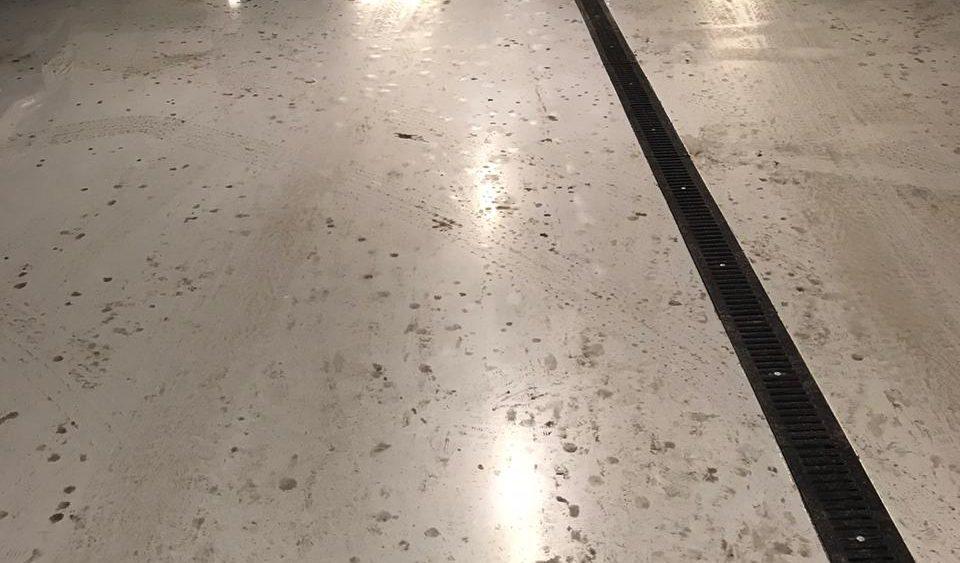 Капиллярный подсос под полимерным полом