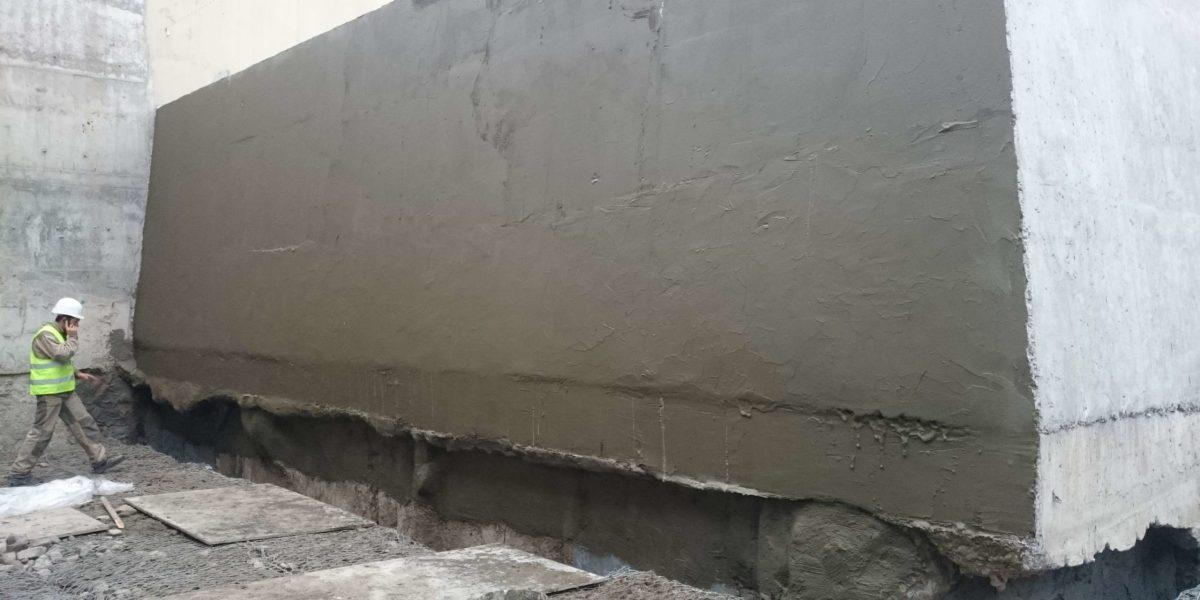 наружная эластичная гидроизоляция на цементной основе