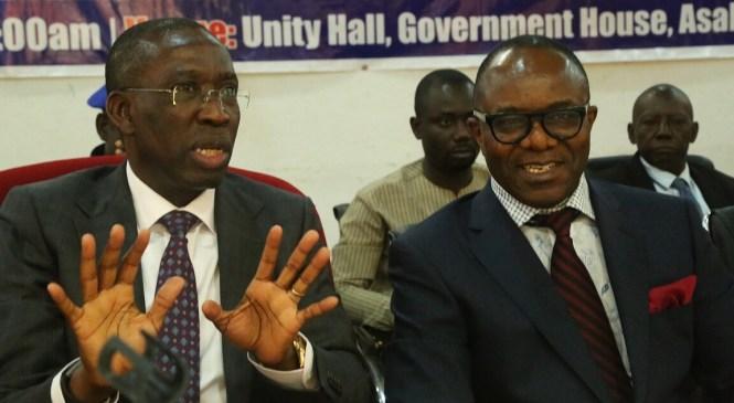 Kachikwu, Okowa Shun Clark, Other PANDEF Stakeholders In Oil Industry Meeting