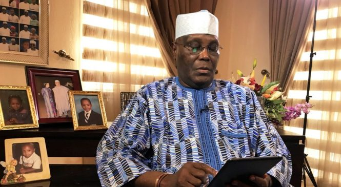 BREAKING! Atiku Makes Live Facebook Broadcast, Officially Joins PDP
