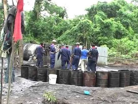 Civil Defence Clamp Down On Illegal Refineries In Edo, Destroyed 28 Camps