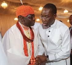 Gov Okowa Felicitates With Olu Of Warri On 2nd Coronation Anniversary