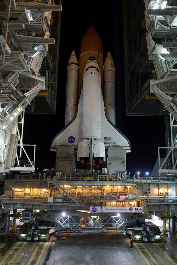 space shuttle preparation 15 Шаттл Discovery готовят к последнему полету