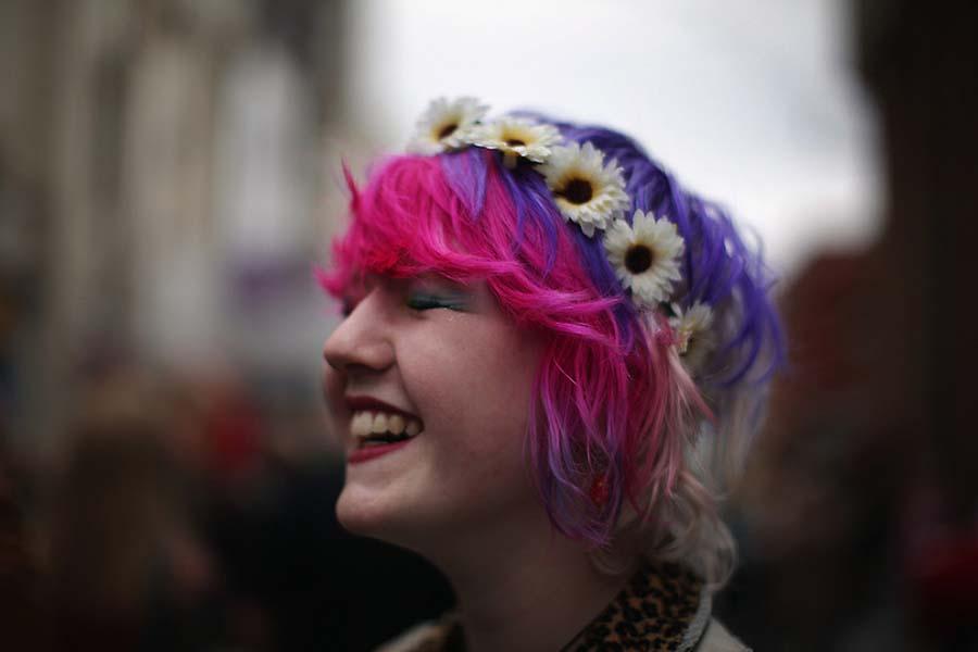 Панк фестиваль в английском городке Блэкпул