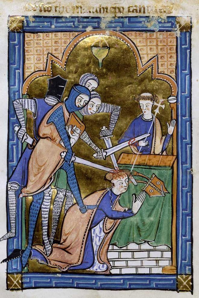 20 средневековых картин, на которых расправляются с людьми, но им абсолютно пофигу