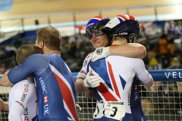 """""""One of the fastest tandem kilo times in history"""" - British Cycling"""