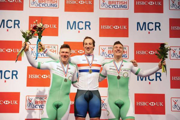 Matt and Tom Rotherham both secured places on the podium in the men's keirin at British Cycling Track Nationals, with SILVER and BRONZE, respectively.