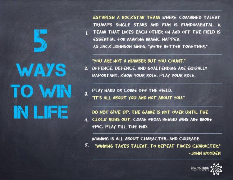 5 ways to win