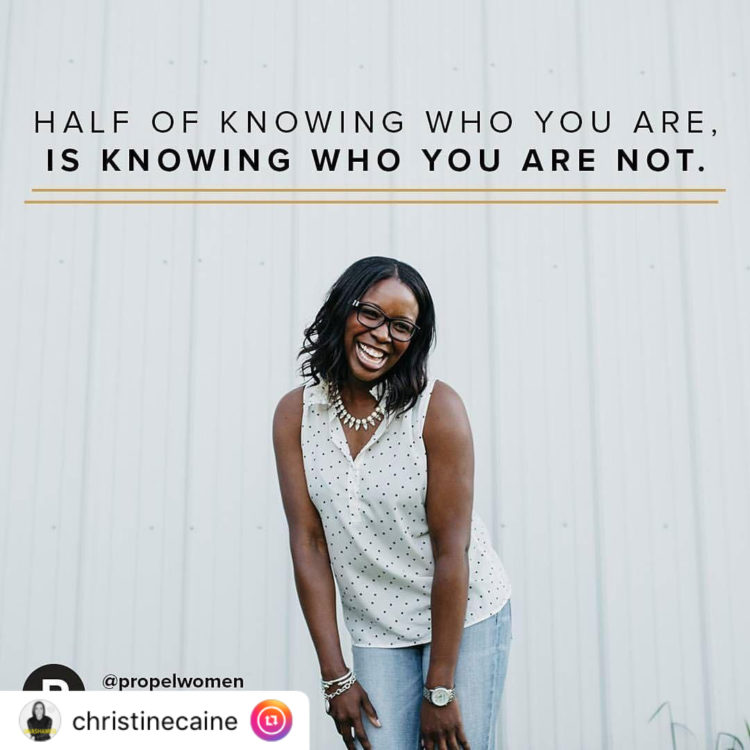 """・・・ """"Self-care doesn't come natural to a lot of women. We are EXCELLENT at taking care of everyone else, but taking care of ourselves feels like it's not even in our DNA. Knowing that we aren't good at it, but that it is good for us, will help us be more intentional about caring for ourselves so that we can have the reserves to continue to take excellent care of others. Follow @propelwomen for inspiration, encouragement & motivation."""