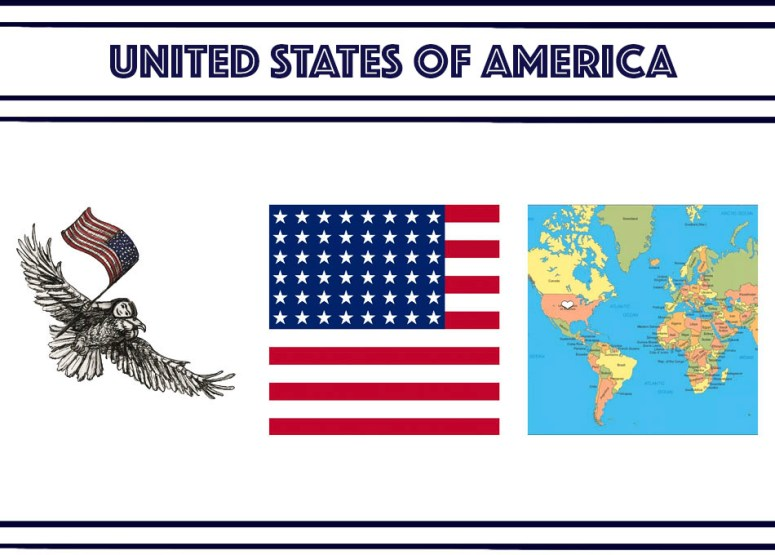 UNITED STATES of America banner