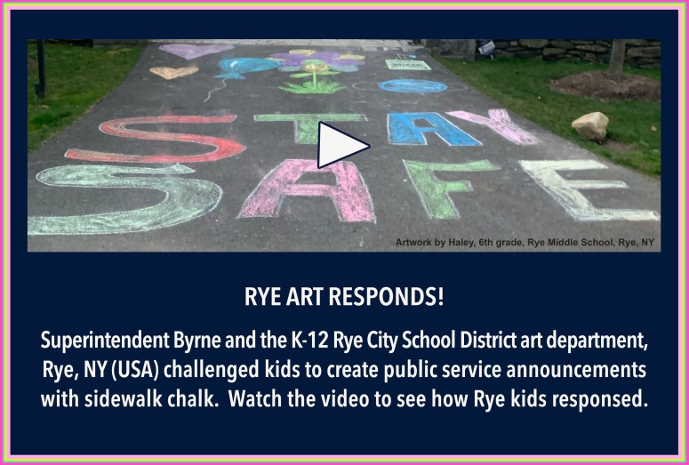 Rye Arts Responds front page1
