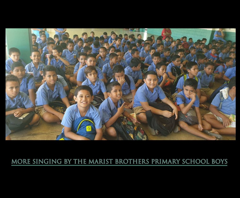 More singing by marist bros samoa spring 2020