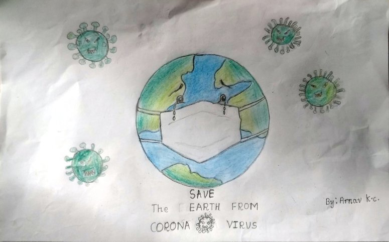 Arnav KC SAVE THE WORLD 9 yrs old
