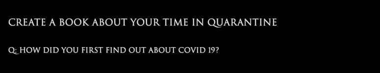 how did you find out about covid