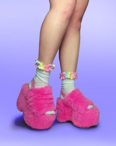 pastel-rainbow-frilly-fairy-kawaii-cute-ankle-socks