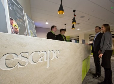 The Escape Lounge at Manchester Airport