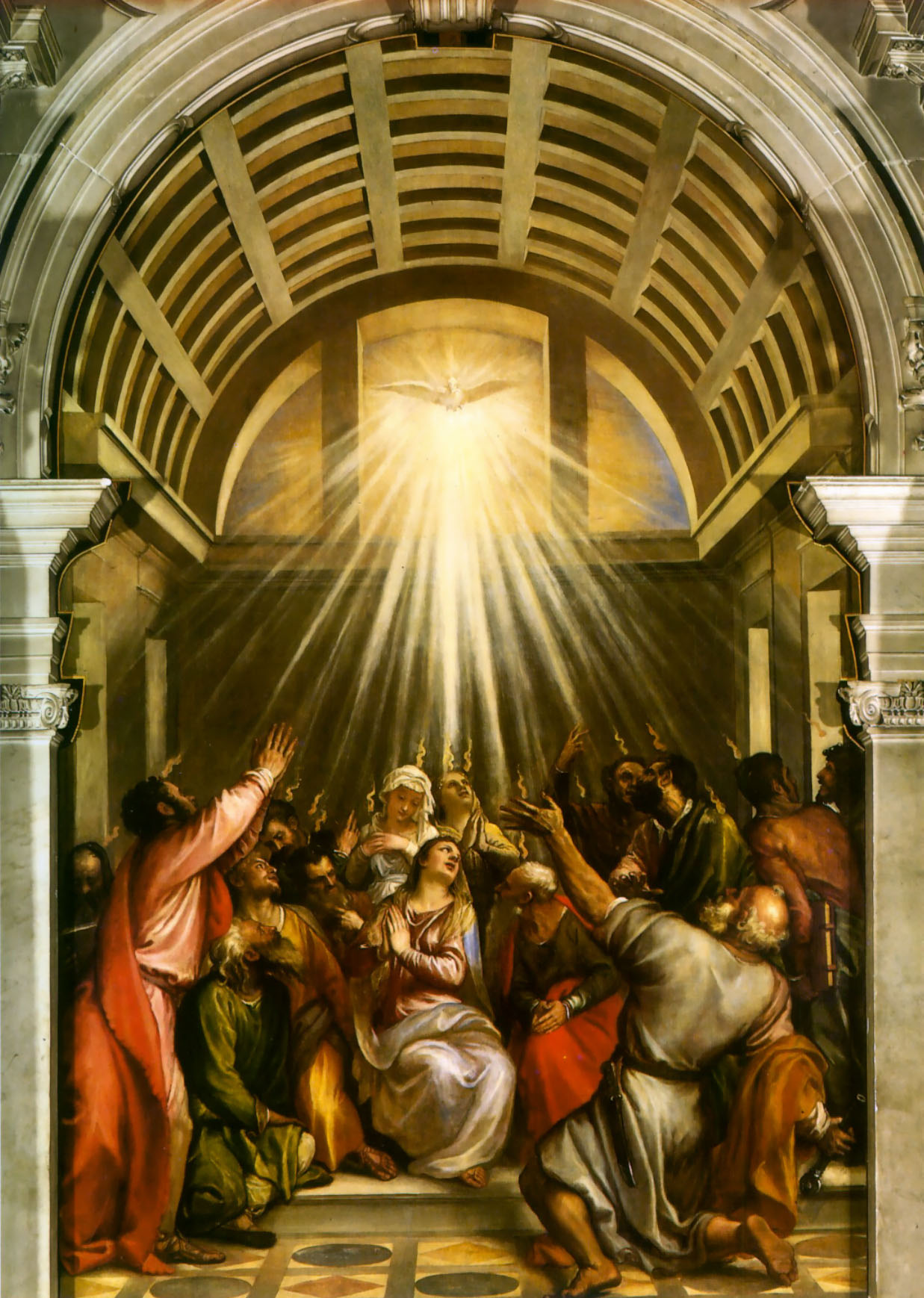 Descent of the Holy Spirit Holy Ghost